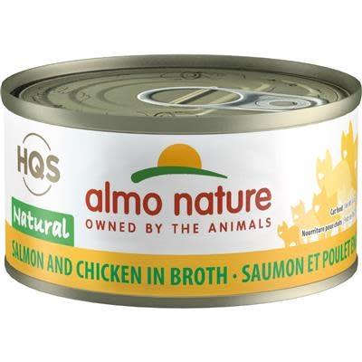 Almo Nature Almo Nature HQS Salmon And Chicken in Broth2.47oz