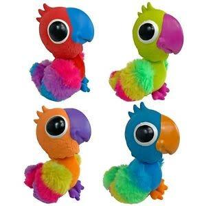 Multipet Products Multipet Bobble Birds Assorted Colours 8``