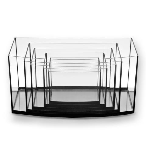 Aquatop AQUATOP Eurostyle Bowfront Glass Aquarium