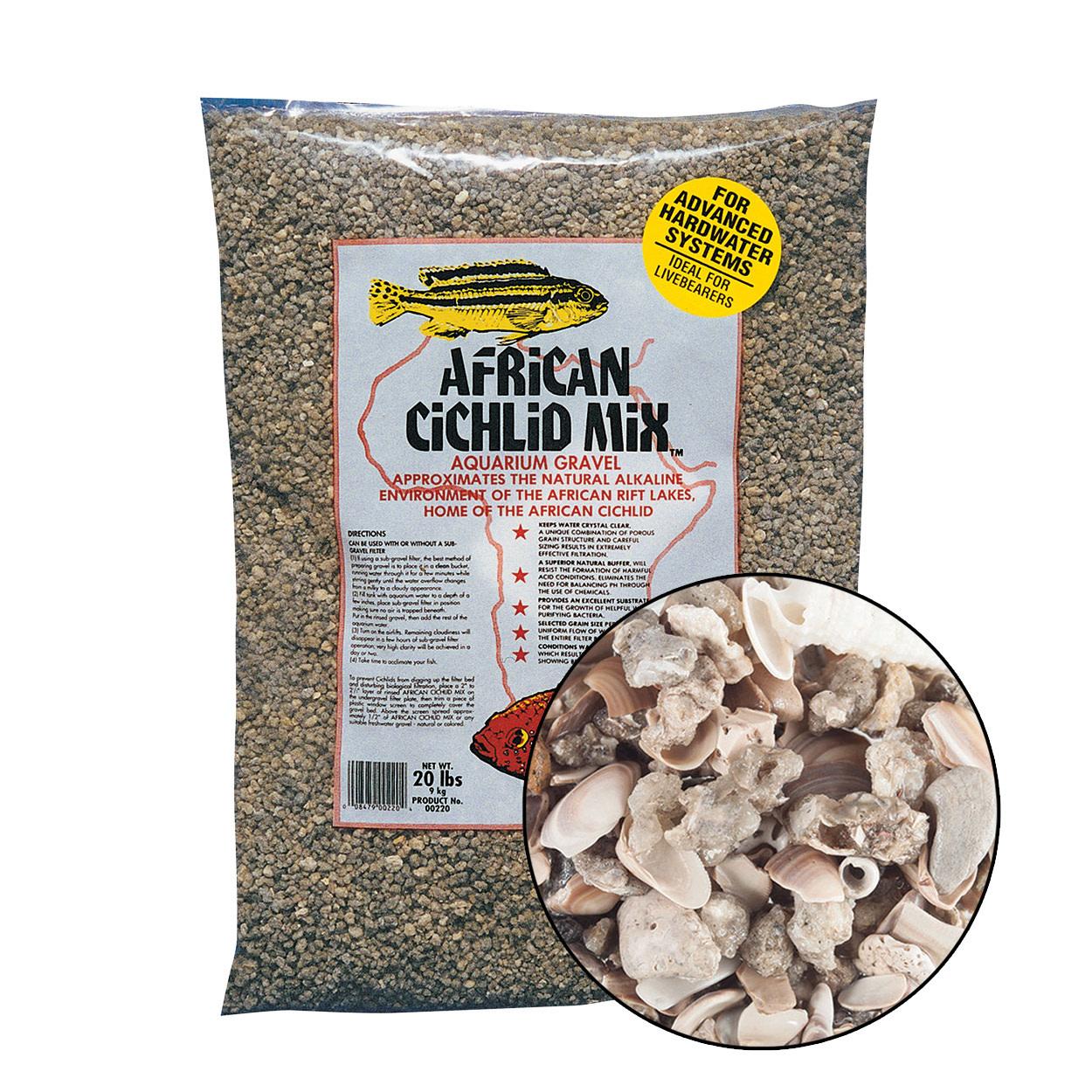CaribSea CaribSea African Cichlid Mix Original 20 lb