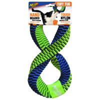 Nerf Dog Nerf Dog Hand Braided Twisted Infinity Tug