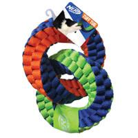 Nerf Dog Nerf Dog Braided Twisted 2-Ring Tug