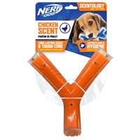 Nerf Dog Nerf Dog Scentology Wishbone - Chicken Scent