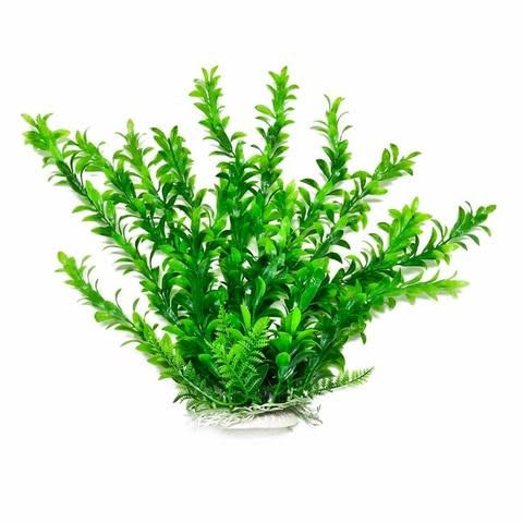 Aquatop AQUATOP Artificial Plant W/ Weighted Base -Anacharis-Like (Green)