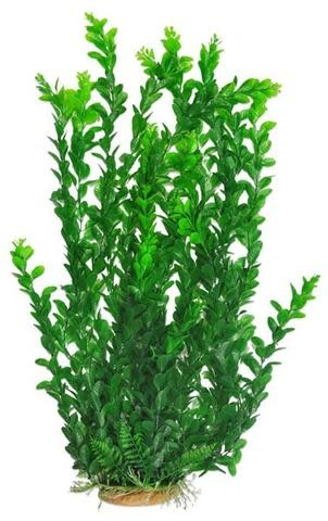 "Aquatop AQUATOP Large Artificial Plant W/ Weighted Base -Light Green Medium Leaf 25"""