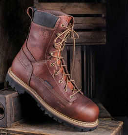"Carolina Grind 8"" Lace-up Composite Toe Work Boot"