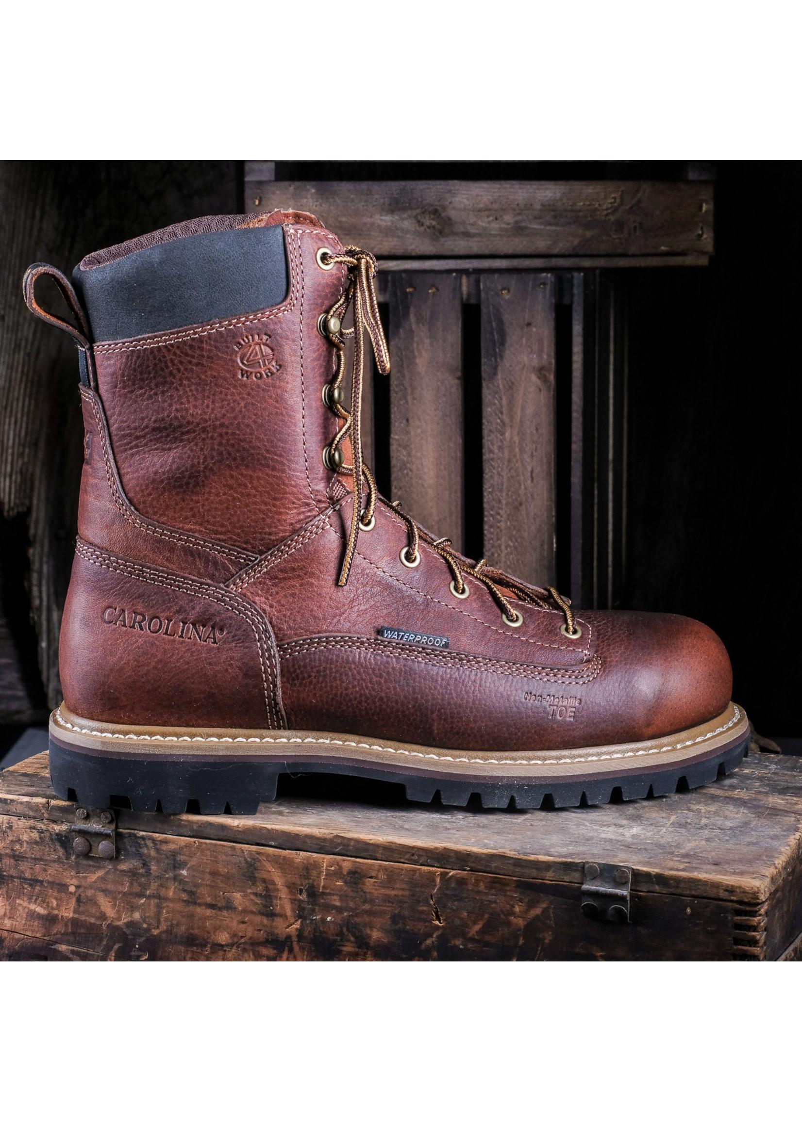 "Carolina Grind 8"" Lace-up Composite Toe Work Boot CA5529"