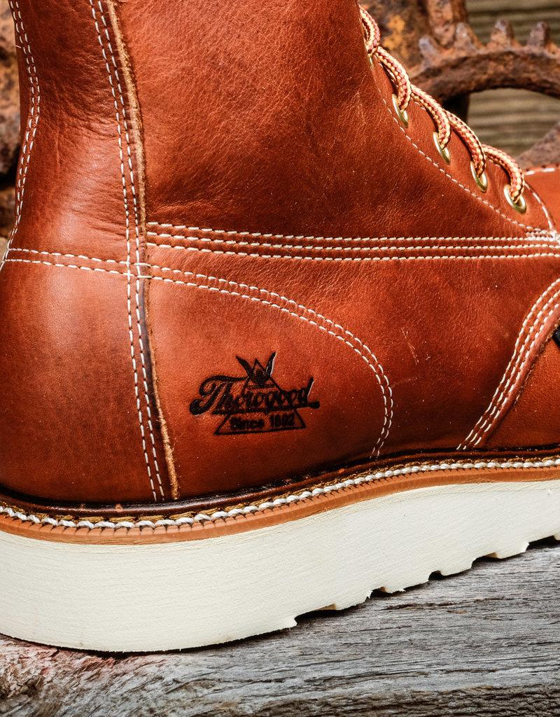 "Thorogood Thorogood American Heritage 804-4208 Steel Moc Toe 8"" Wedge Boots"