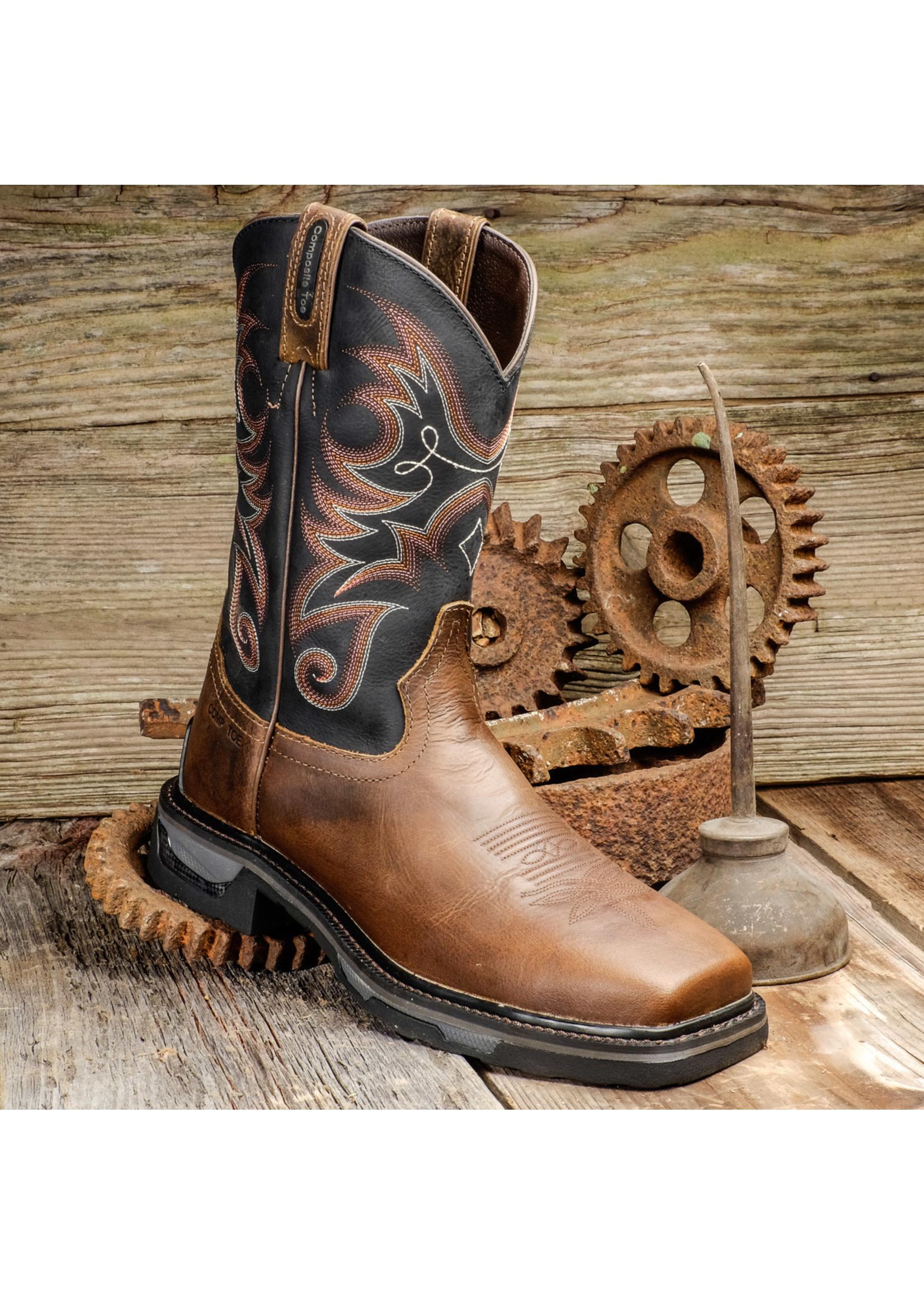 Tony Lama Men's Diboll Composite Toe TLX Work Boots TW4004