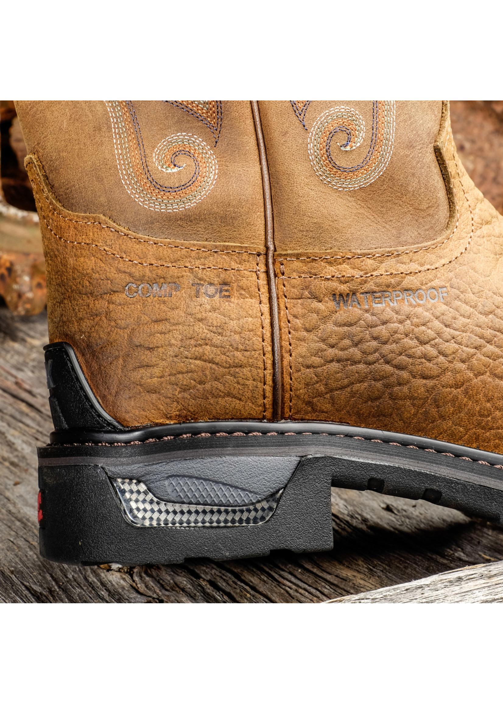 Tony Lama Sierra Badlands Composite Toe Waterproof Work Boots TW4006