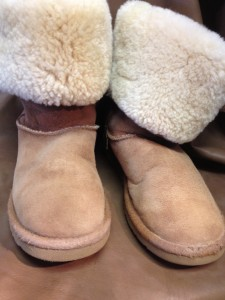 Cleaned Ugg Boots