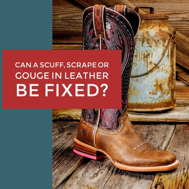 Can A Scuff, Scrape Or Gouge In Leather Be Fixed?