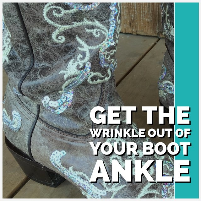 Take Wrinkles Out Of Boot Shafts