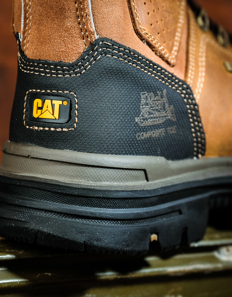 "Caterpillar Men's Hauler 6"" Waterproof Composite Toe Work Boots P90449"
