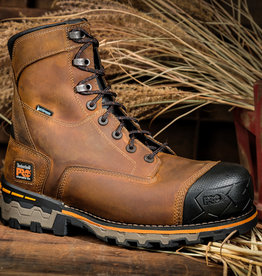 """Timberland Pro Boodock Men's  8"""" Composite Toe Work Boots"""