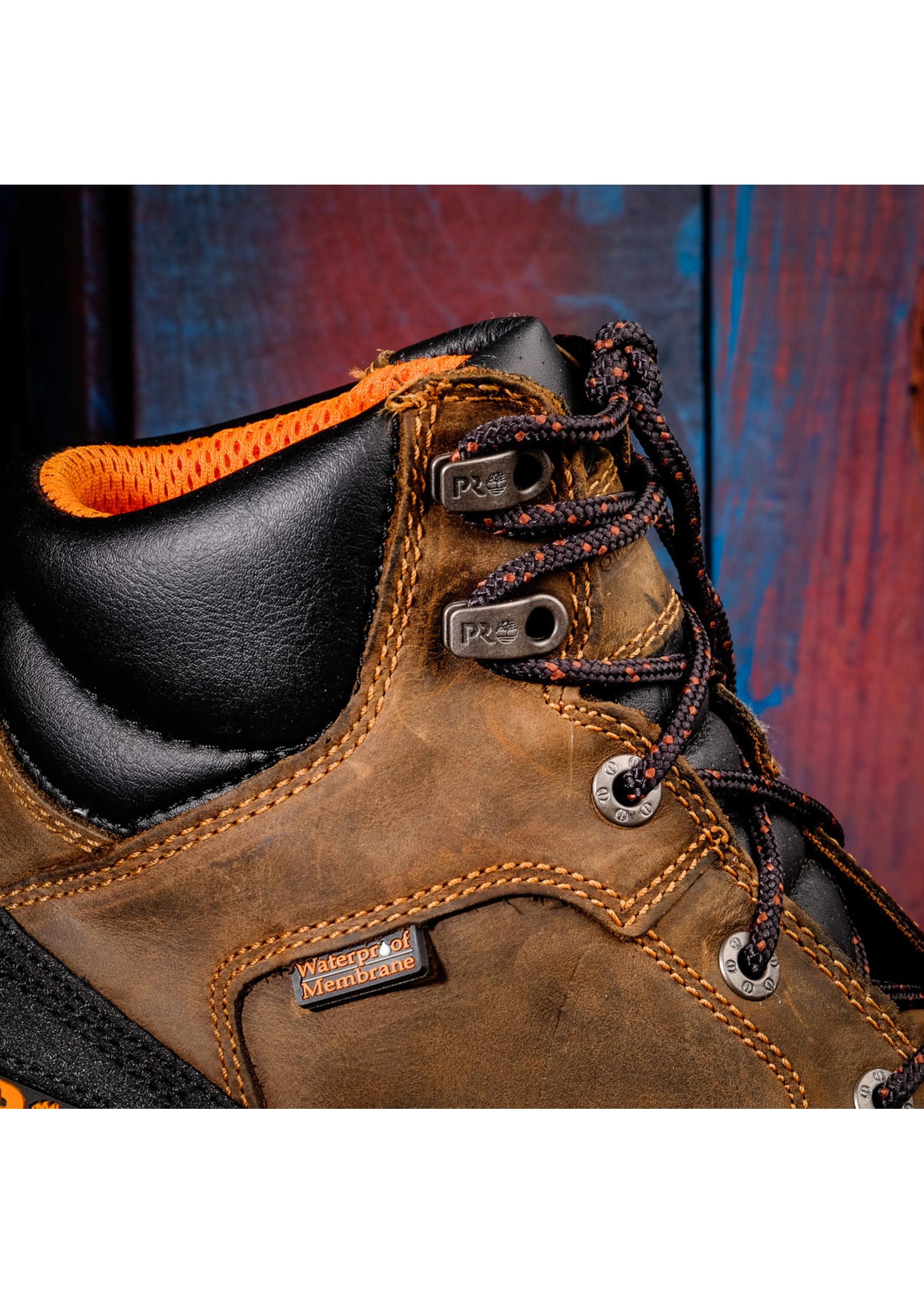 """Timberland Pro Boondock Waterproof 6"""" Composite Toe Boot 92615"""