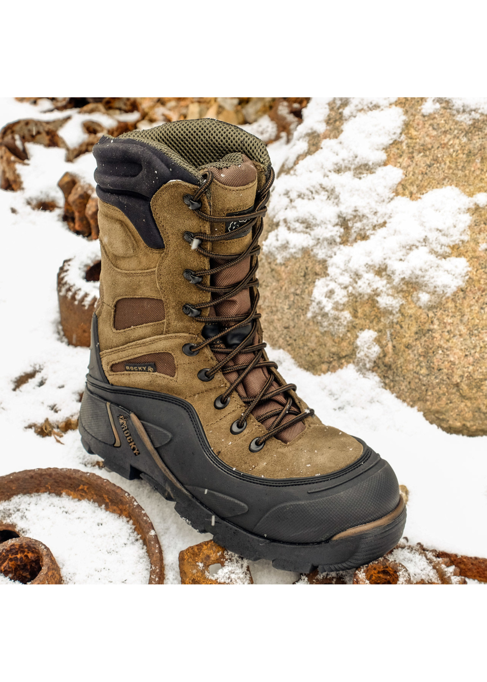"Rocky Blizzard Stalker 7465 Insulated 9"" Steel Toe Work Boot"