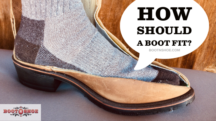 How Should A New Boot Fit?