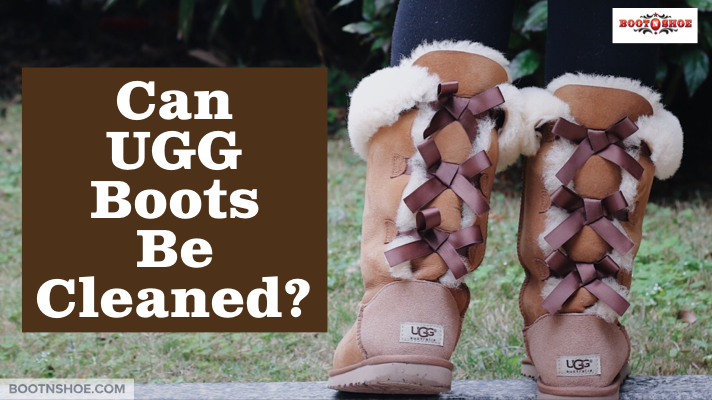 Can UGG Boots Be Cleaned?