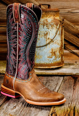 Ariat Women's Vaquera Saddle Tan Cowgirl Boots 10017363