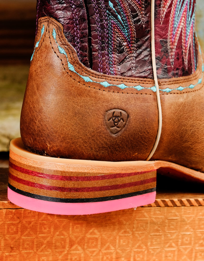 Ariat Ariat Vaquera 10017363 Saddle Tan Cowgirl Boots