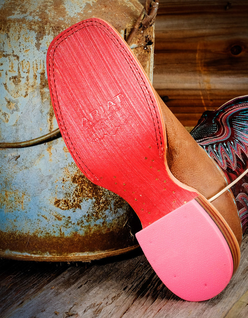 Ariat Women's Vaquera Saddle Tan Cowgirl Boots 10017363