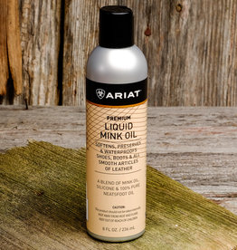 Ariat Premium Liquid Mink Oil