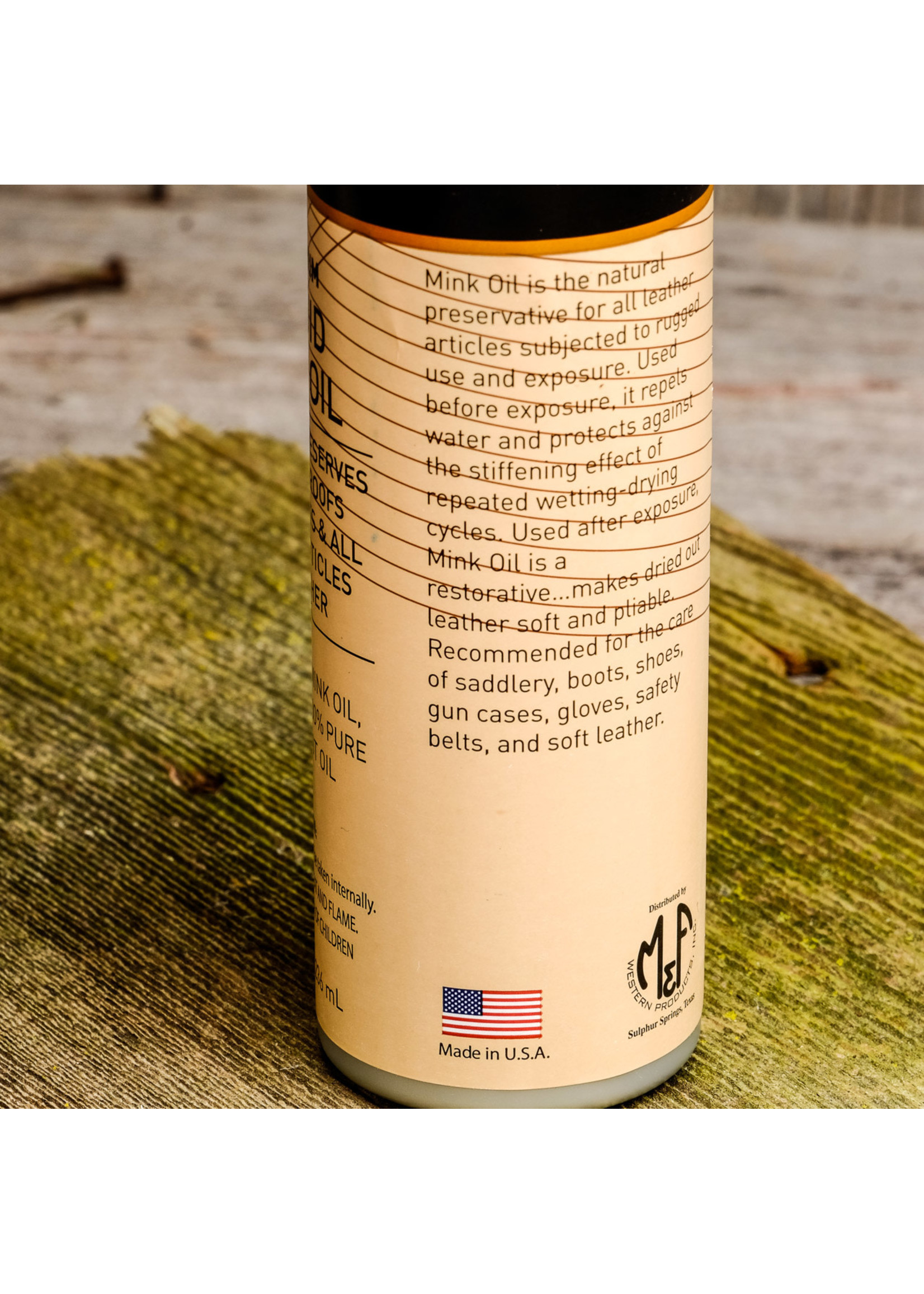 Ariat Premium Liquid Mink Oil A27014