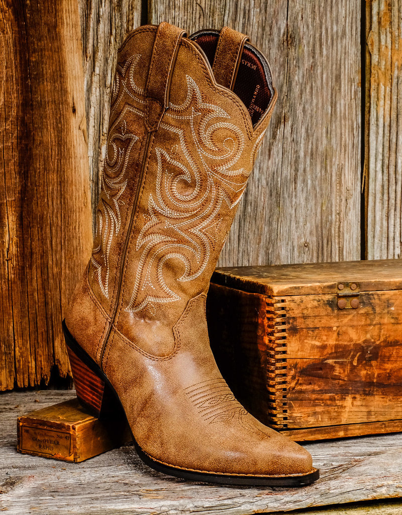 Durango Women's Durango Crush Women's Scall-Upped Western Boots DCRD177