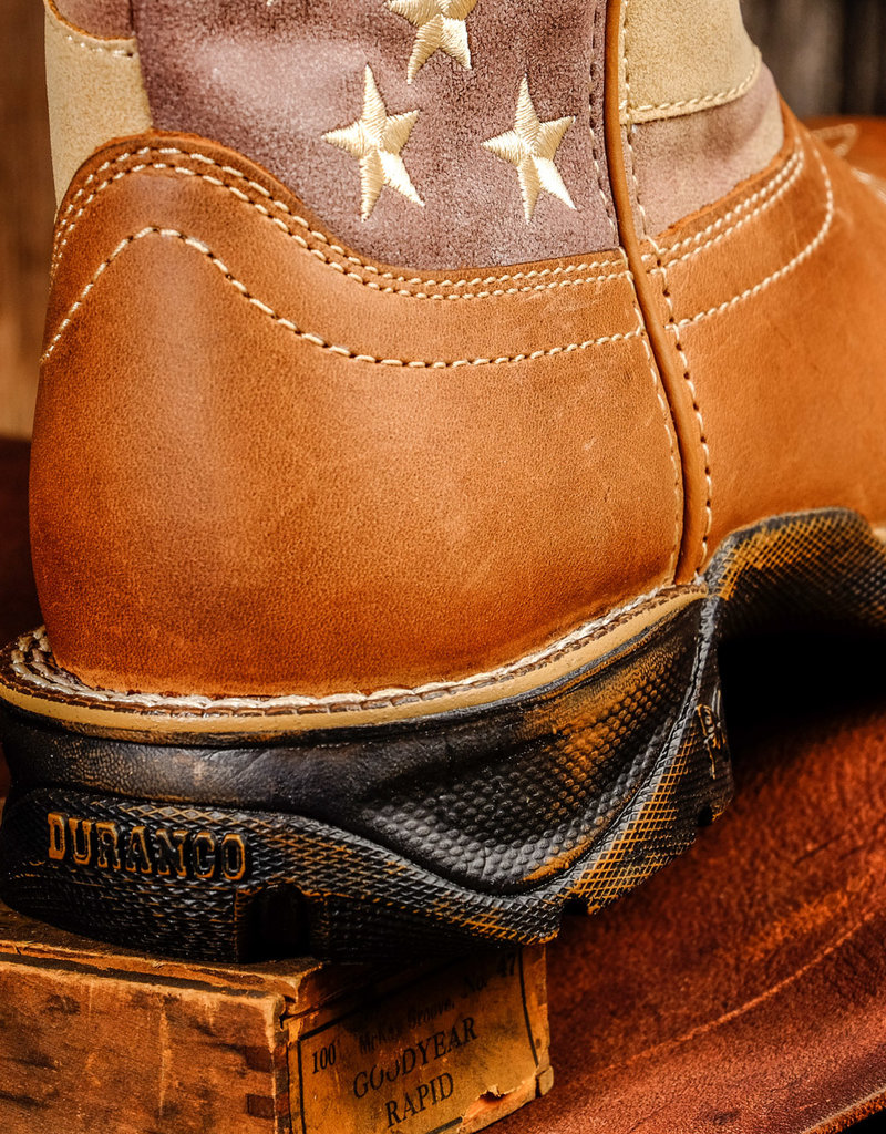 Durango Women's Lady Rebel Faded Union Flag Boot DRD0107