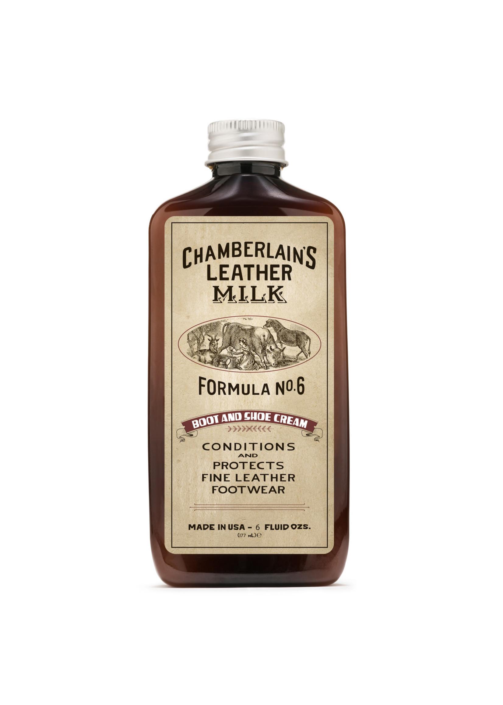 Chamberlain's Leather Milk Chamberlain's Leather Milk - Formula No. 6 Boot and Shoe Cream 6 Oz