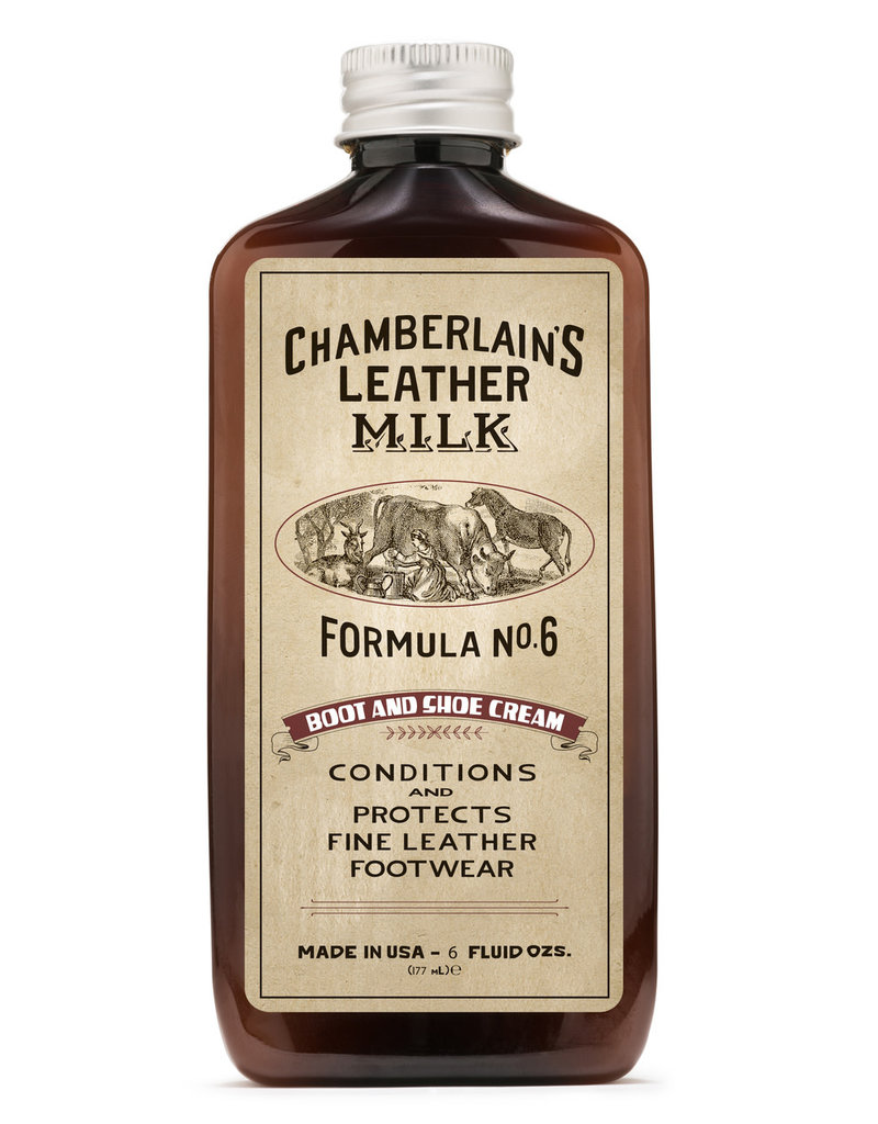 Chamberlain's Leather Milk Chamberlain's Leather Milk - Formula No. 6 Boot and Shoe Cream 6 Oz