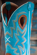 Twisted X Men's Twisted X Lite ST Cowboy Workboots Cognac/Turquoise  MLCS020