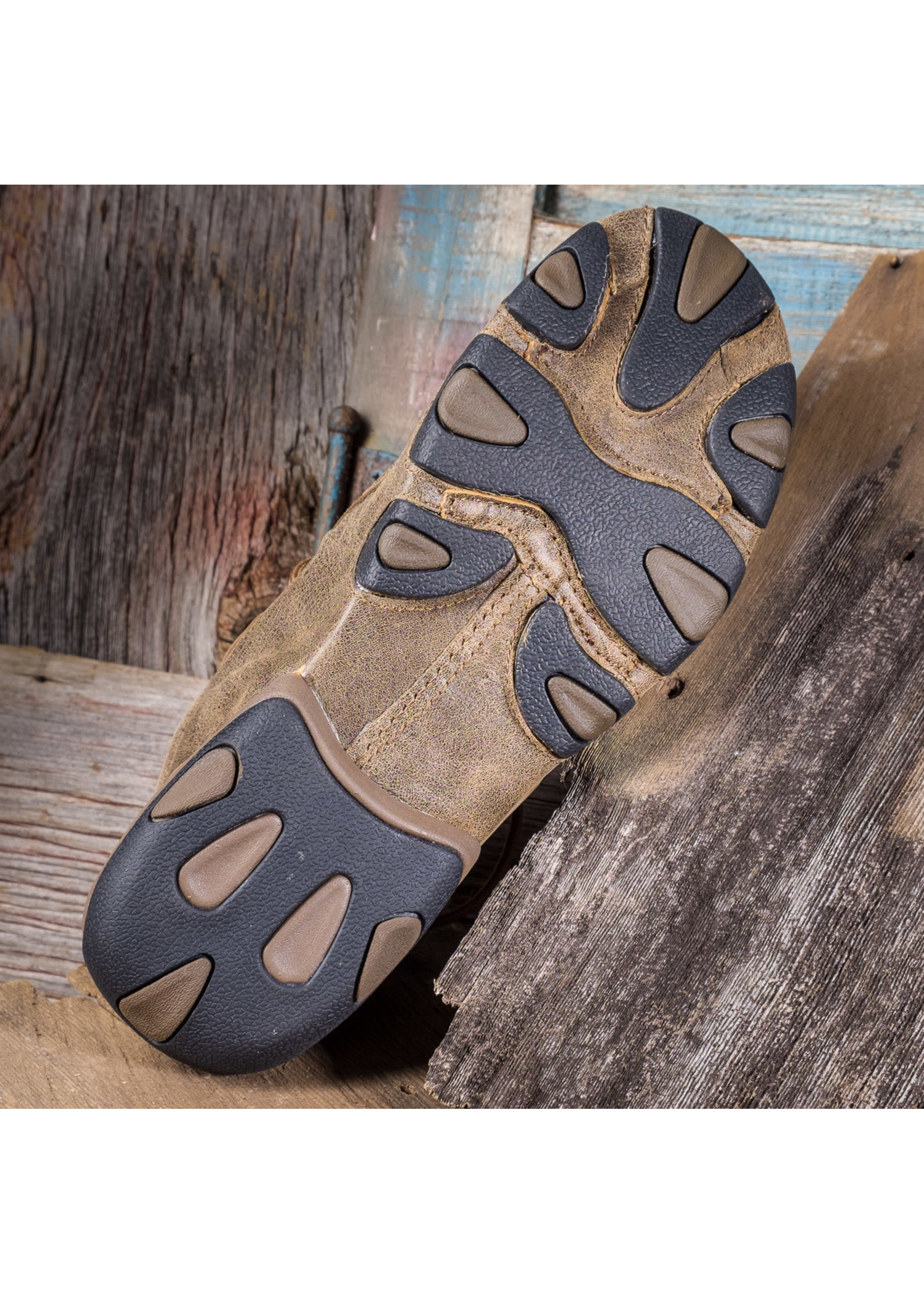 Twisted X Men's Lace-Up Driving Mocs MDM0003