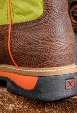 Twisted X Twisted X Men's Lite Cowboy ST Workboot Crazy horse/Neon Yellow  MLCS018