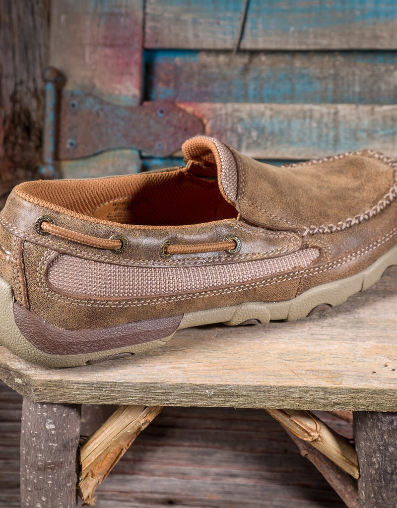 Twisted X Women's Slip On Driving Moc WDMS005