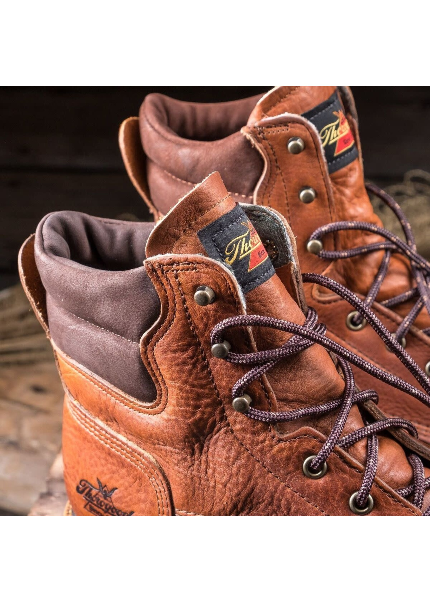 """Thorogood 8"""" Lace-Up American Heritage Work Boot 814-4549"""