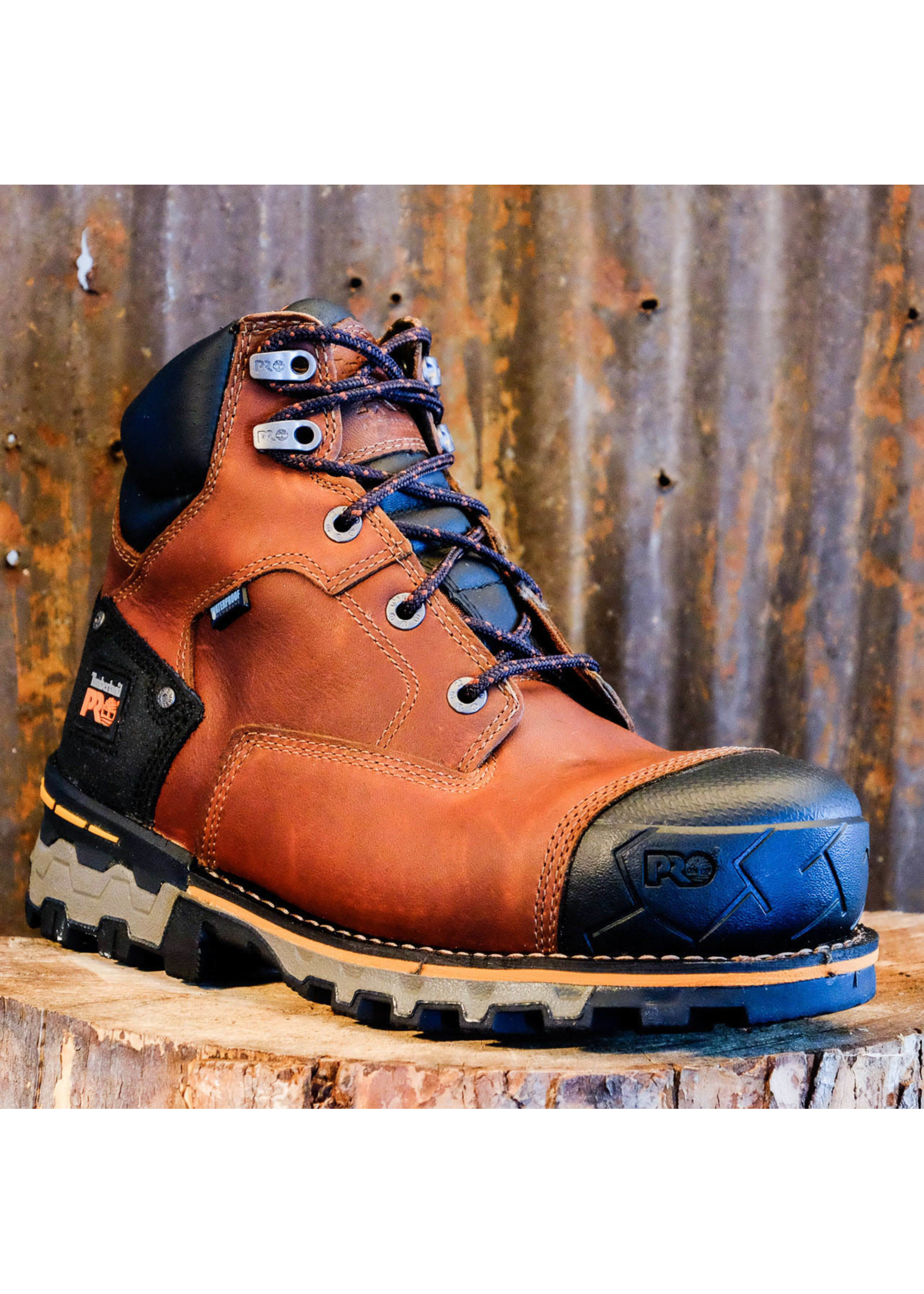 "Timberland Pro Boondock 6"" WP Soft Toe Work Boot 92673"
