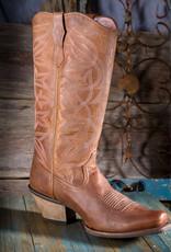 Ariat Women's Sheridan Brown/Pink Western Boot 10023225