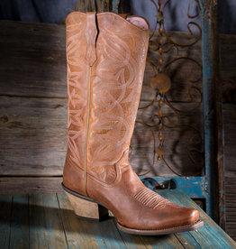 Ariat Women's Sheridan Brown/Pink Western Boot