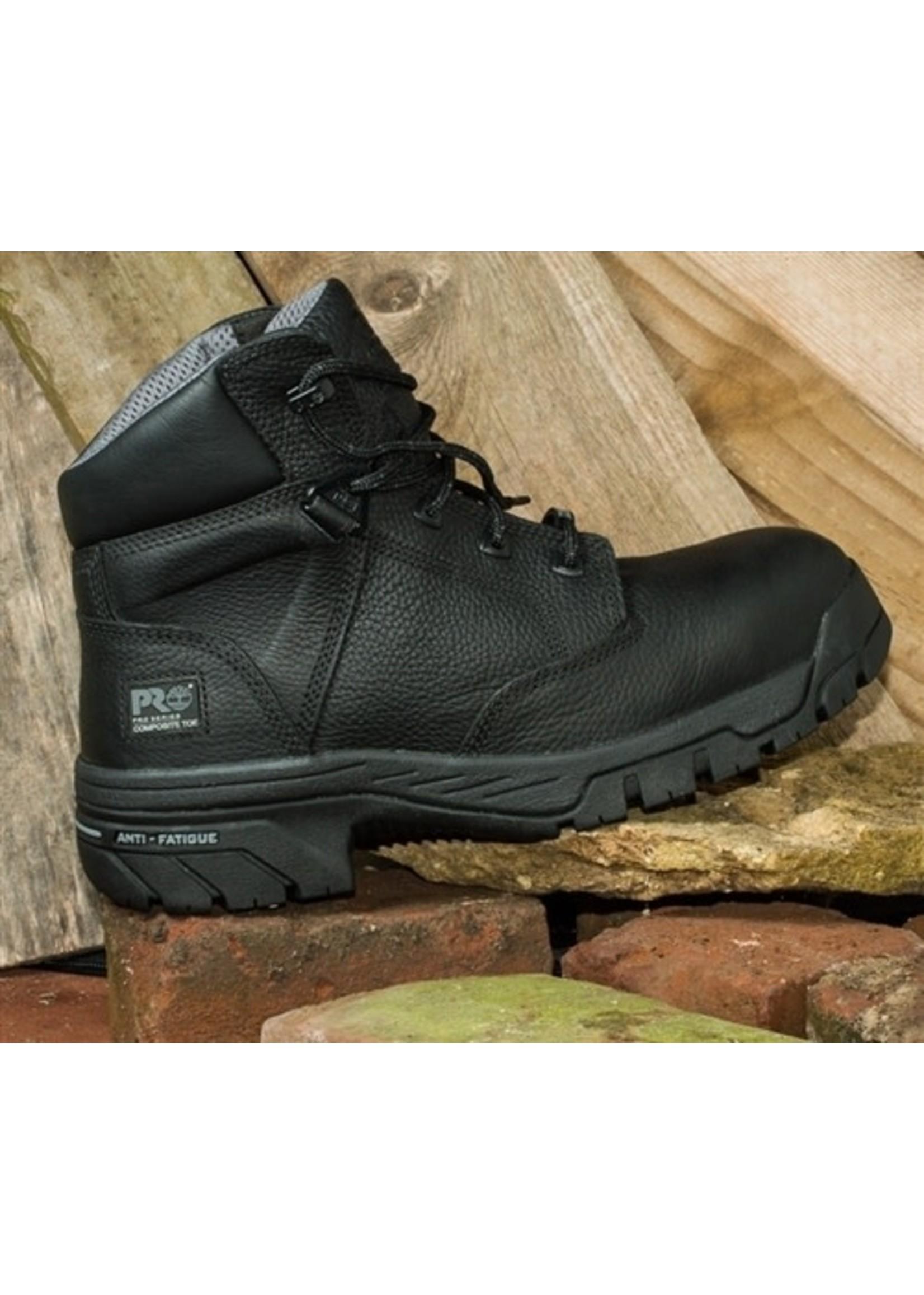 """Timberland Pro Men's 6"""" Black Helix Waterproof Composite Toe Work Boots  87517"""