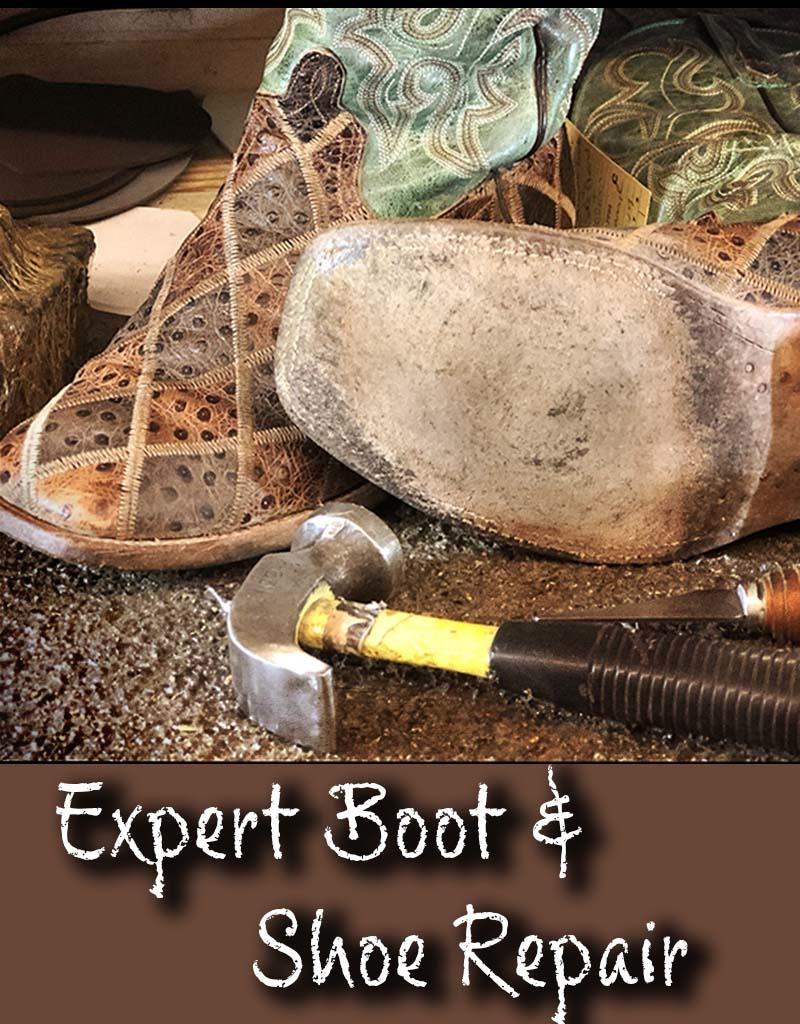 Boot and shoe repair