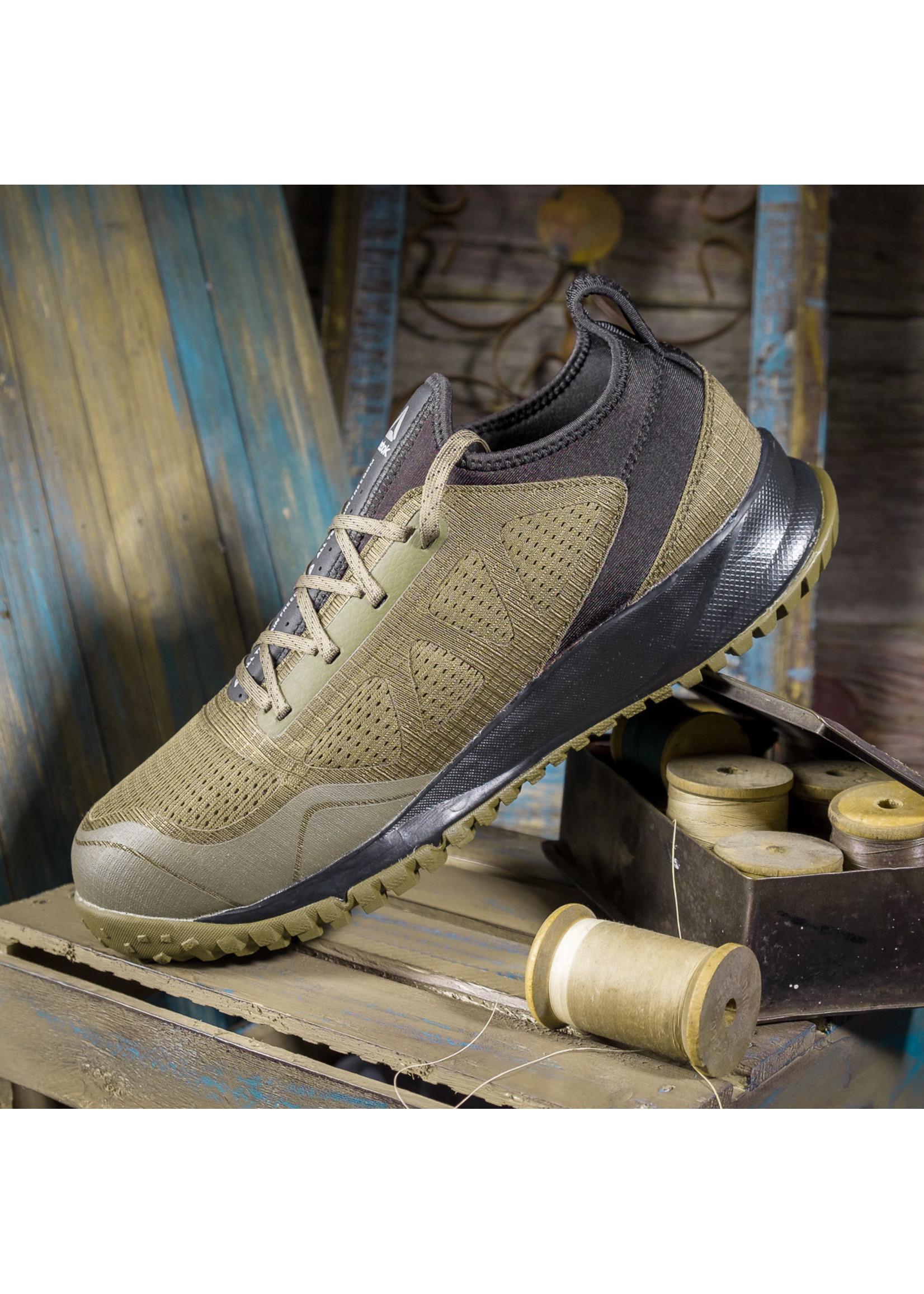 Reebok Men's All Terrain Green/Black Work ST Shoes RB4092