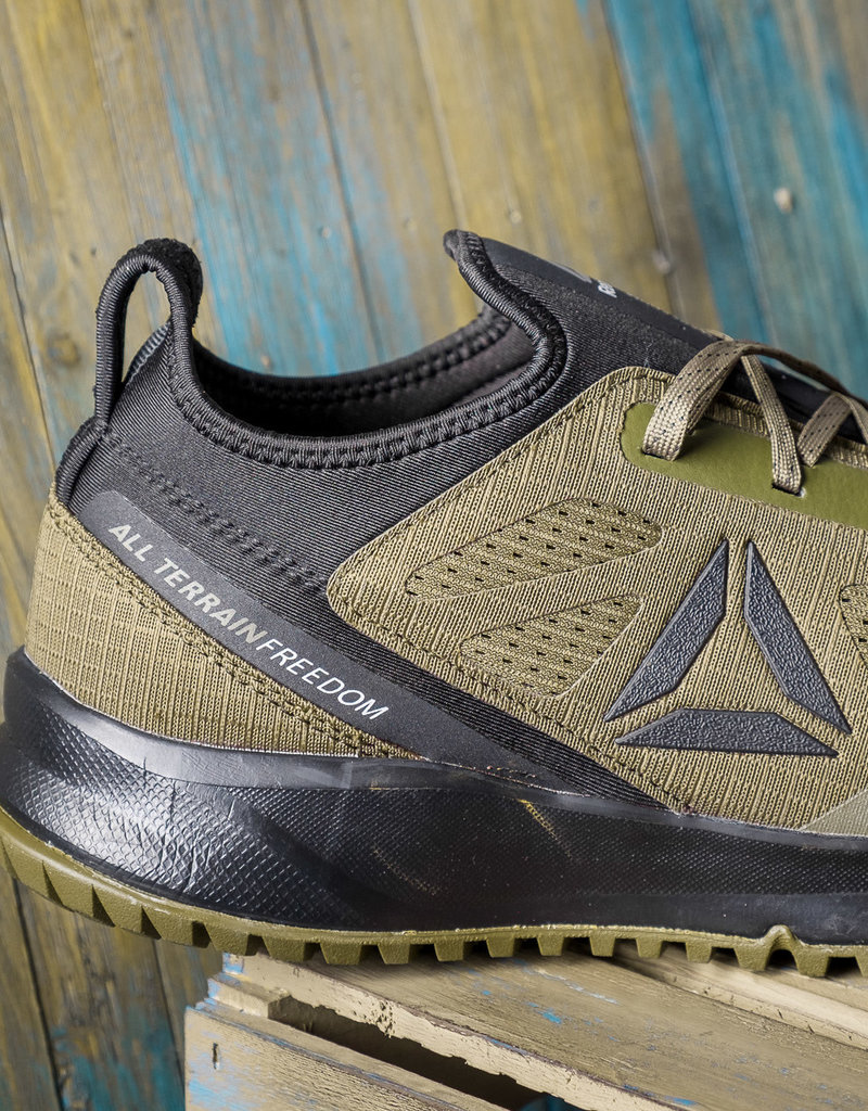 Reebok Men's All Terrain Green/Black Work ST Shoes RB4092