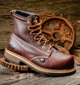 "Thorogood Emperor Men's Black Walnut 6"" Composite Toe Work Boots"