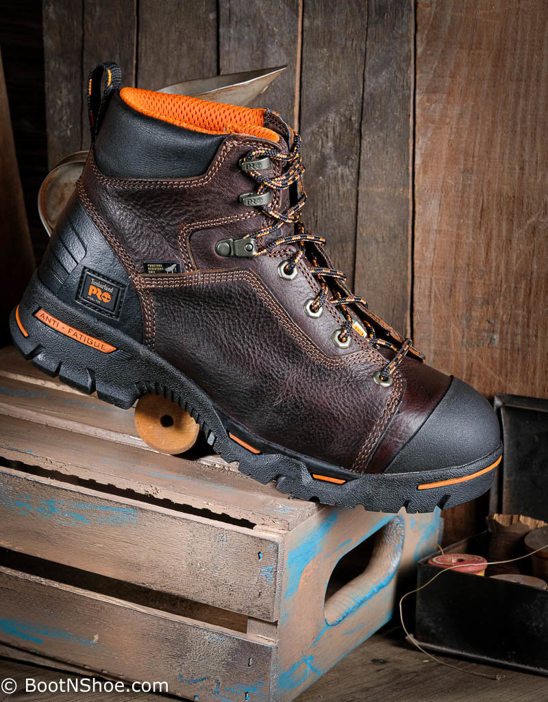 "Timberland Pro Men's Endurance 6"" Steel Toe Work Boots 52562"