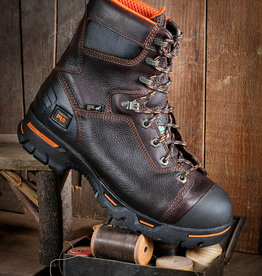 "Timberland Pro Men's Endurance 8"" Steel Toe Work Boots"