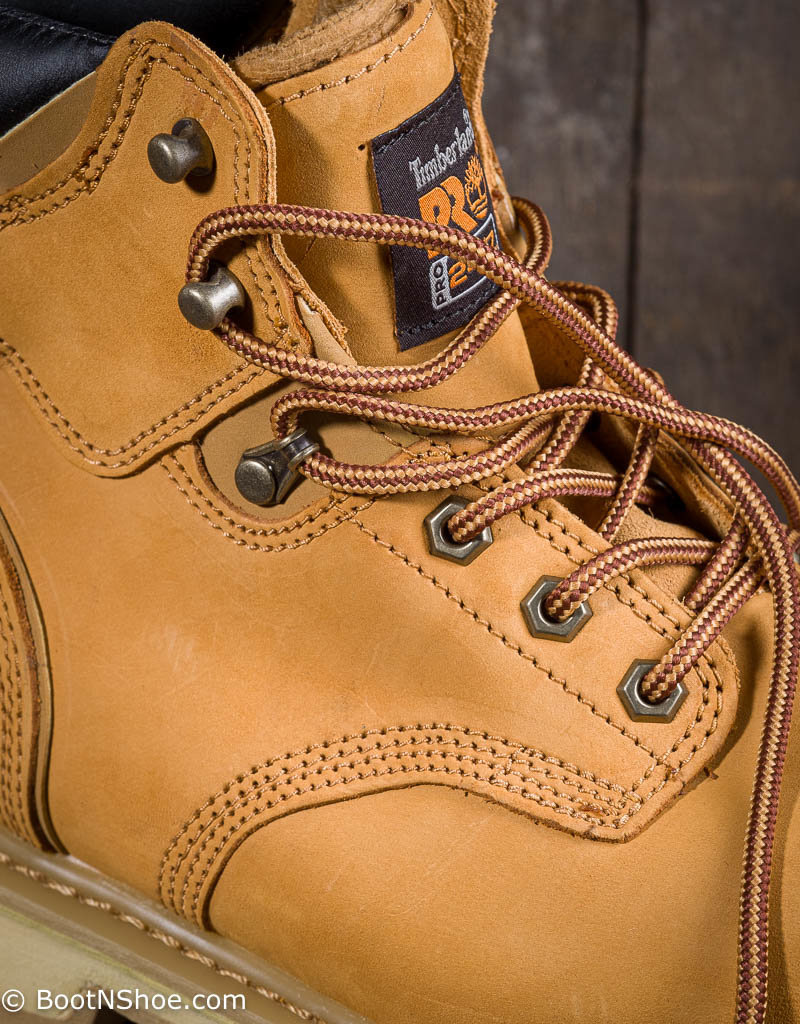 Timberland Pro Pit Boss Men's Steel Toe Nubuck/Wheat Work Boots 33031