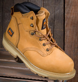 Timberland Pro Pit Boss Men's Steel Toe Nubuck/Wheat Work Boots