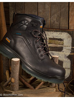 Ariat Men's Composite Toe Lace-up Black Waterproof Work Boots